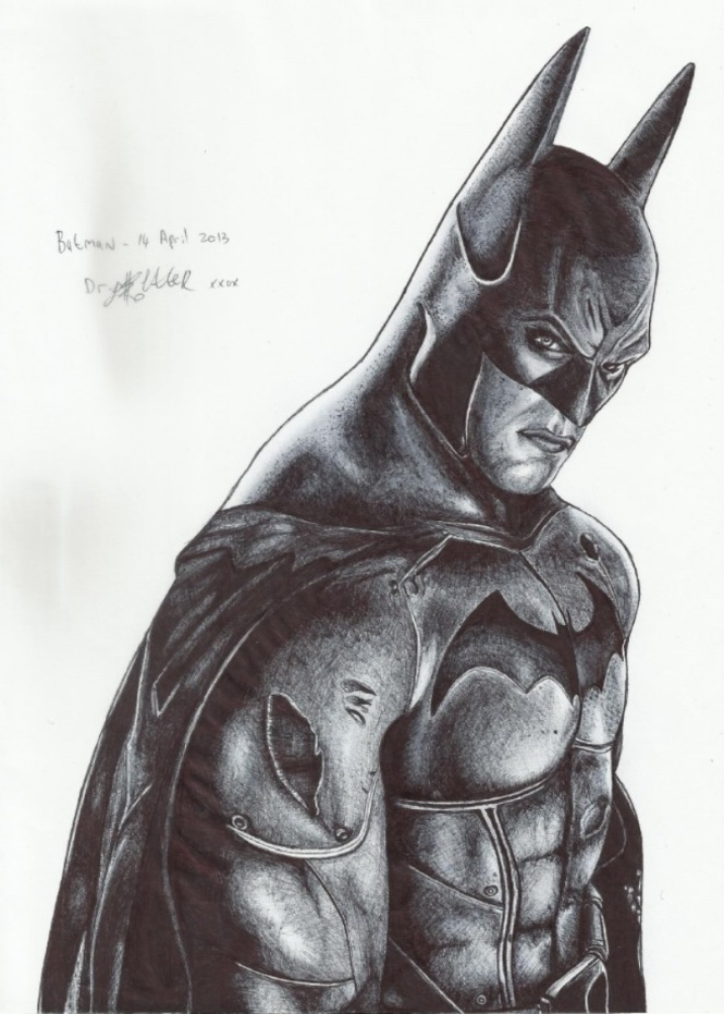 Finished Batman