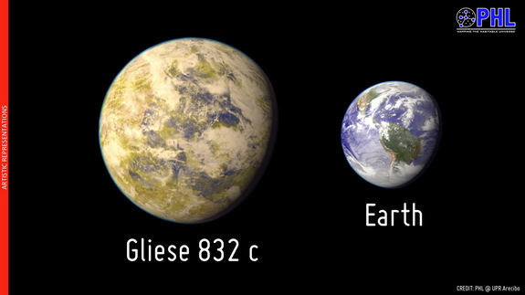 gliese-832c-earth-size-comparison