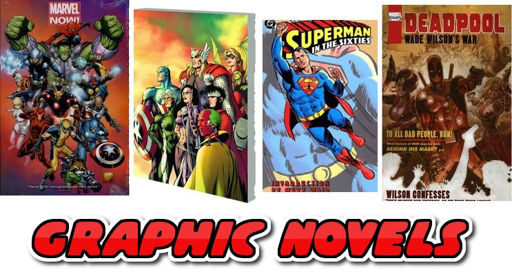 Buy Graphic Novels from £0.99 up