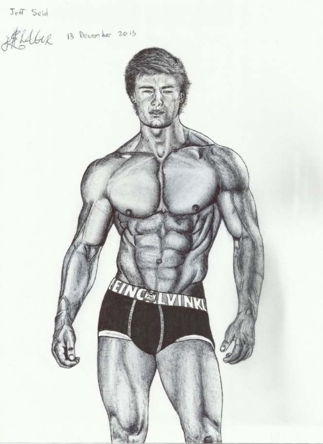 Jeff Seid Drawing