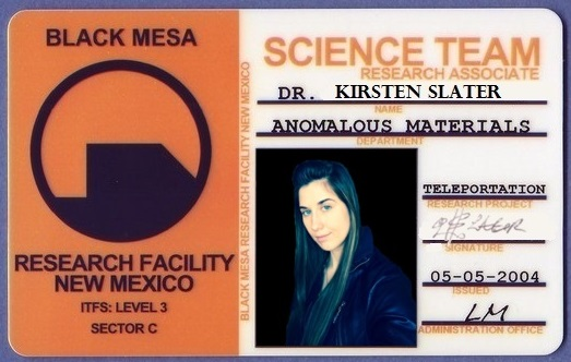 Research science access card