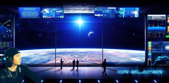 space observation desk