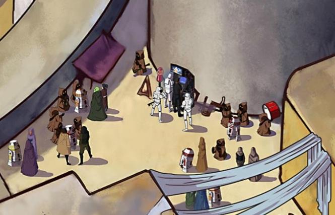 Galactic Spy - Tatooine