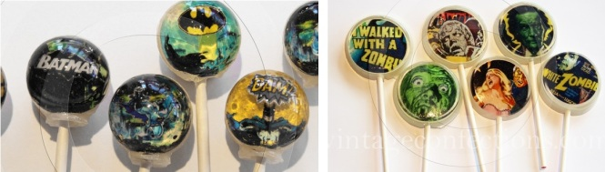 Sweet Tooth lollipops.