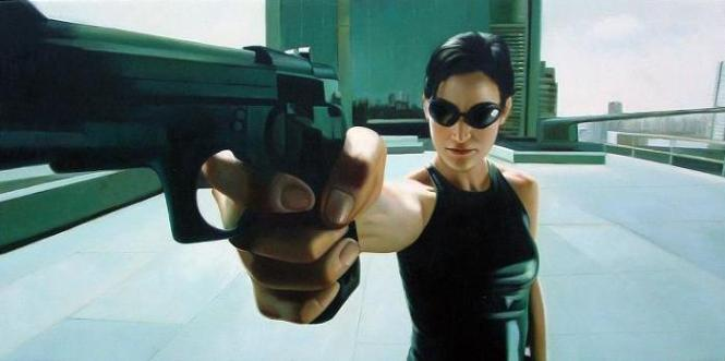 Carrie-Anne Moss - Trinity