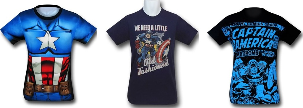 Captain America Shirts