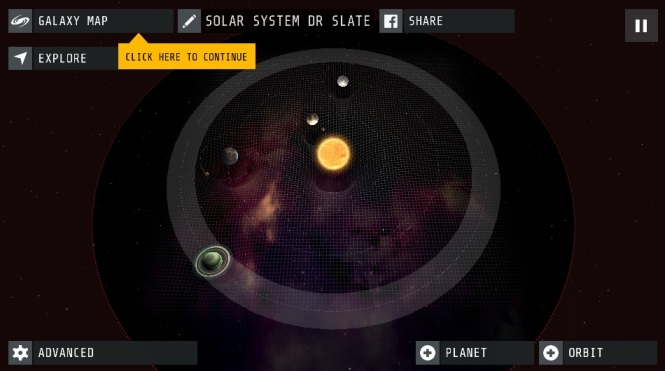 how to make a game about the solar system