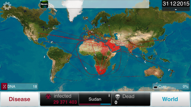 Ebola Transmission Simulation - Spread