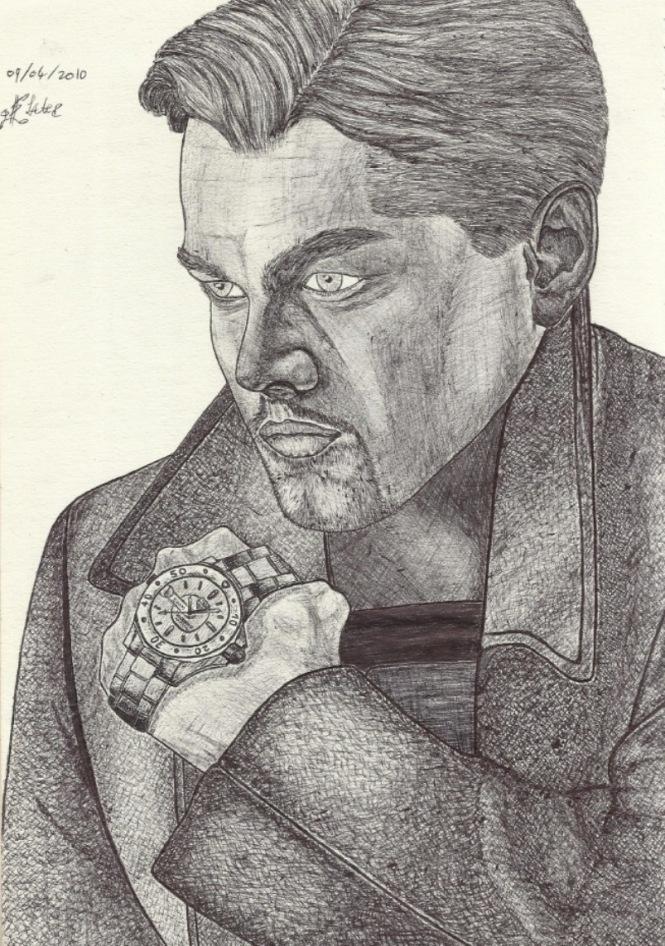 Leonardo DiCaprio Drawing