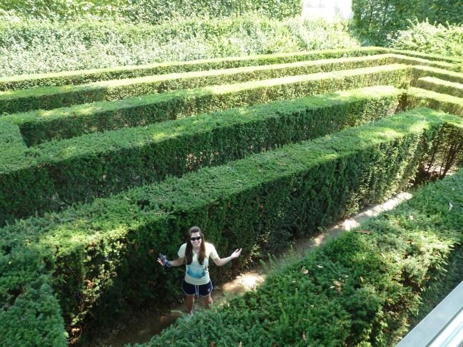 Lost in Schönbrunn Maze