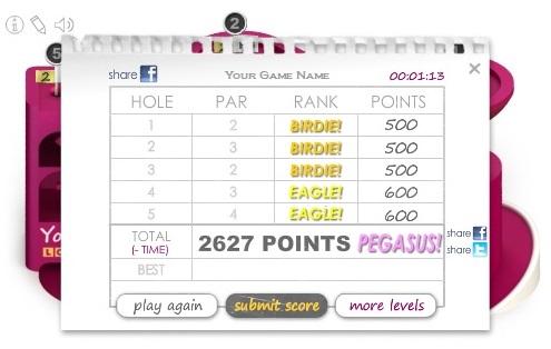Microputt Score - Dr Slater