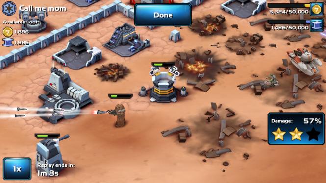 My Wookiees Absorbing Rocket Fire