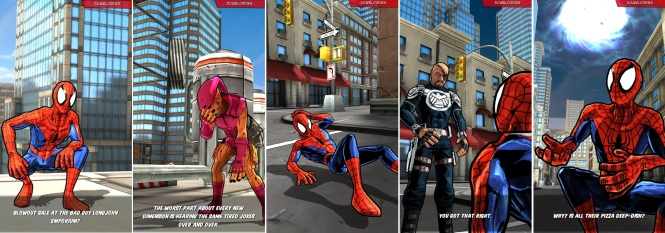 Spider-Man Unlimited Cut Scenes