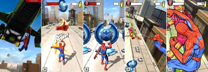 Spider-Man Unlimited Gameplay