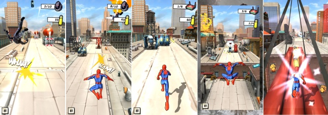 Spider-Man Unlimited In-Game