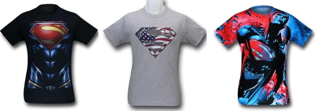 Superman Symbol Shirts