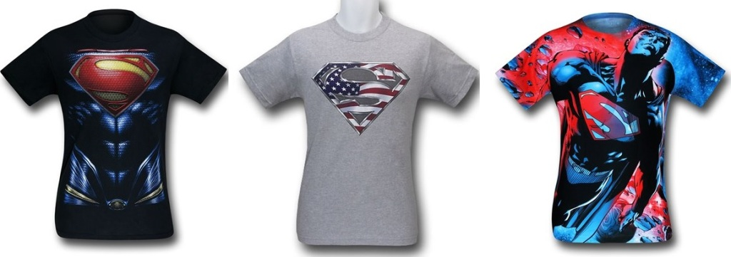 Superman Symbol Shirts