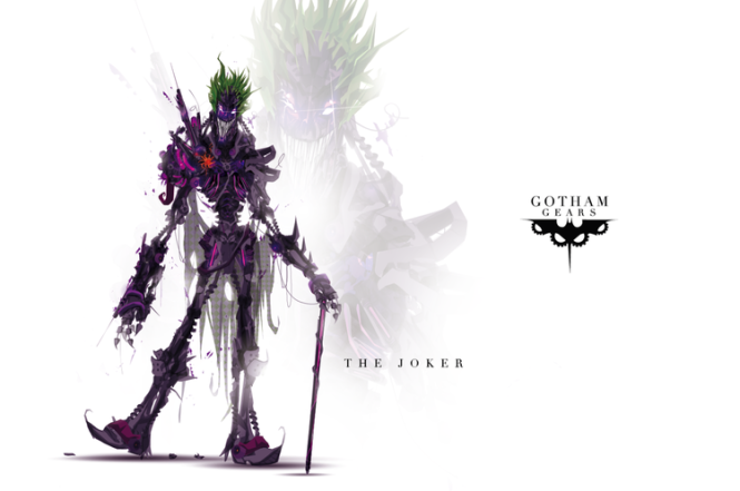 The Joker Robot