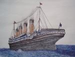 Titanic Drawing