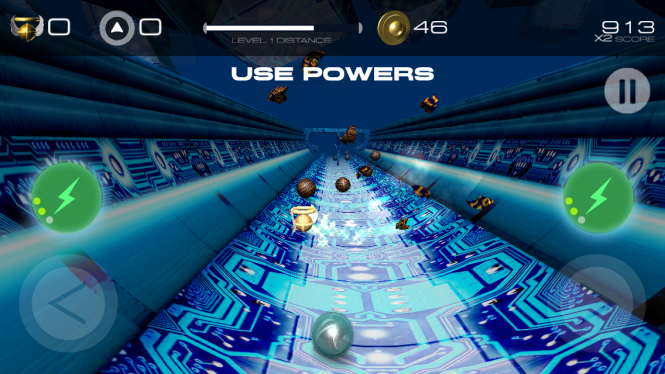 Grooveball In-Game
