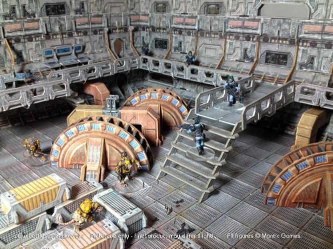 Sci-Fi Battle System