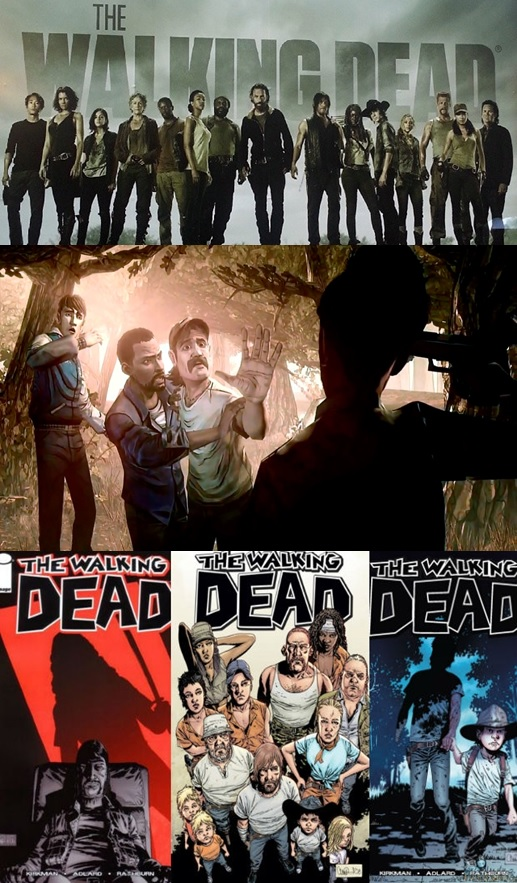The Walking Dead series-game-comic