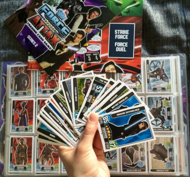 Topps Force Attax Card Collection