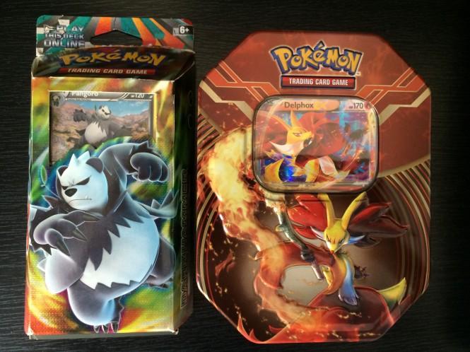 Pokemon Card Decks and Tins