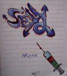 Dr Slater Graffiti