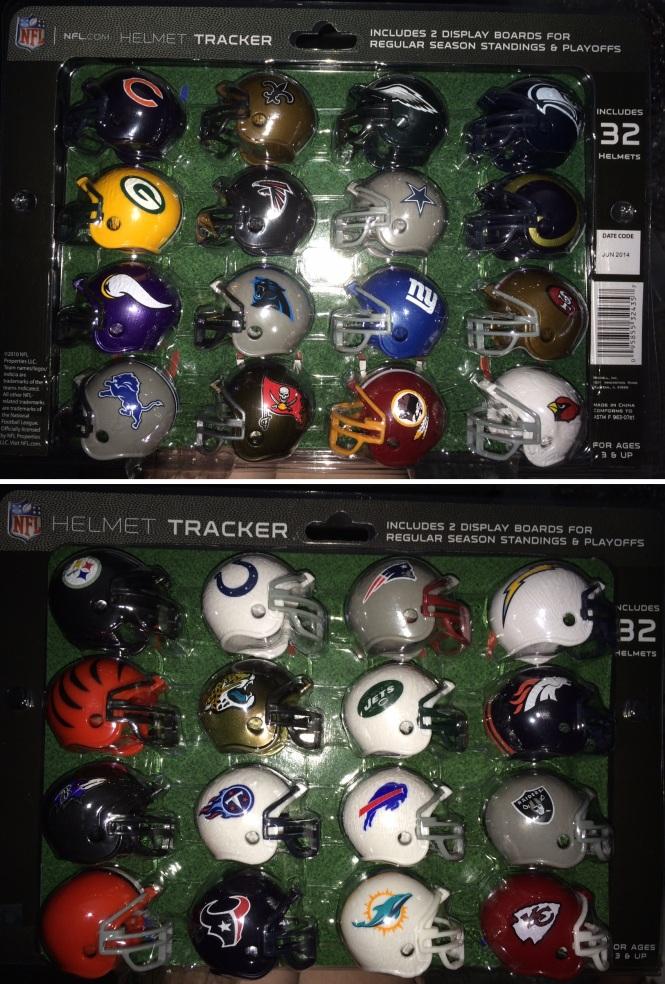 NFL Mini Helmet Collection