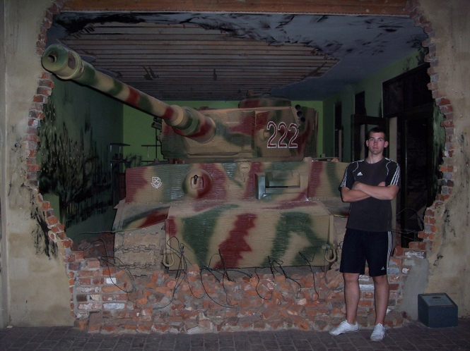 Tiger Tank Saving Private Ryan
