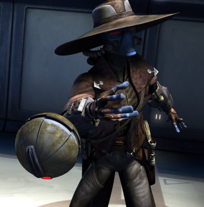 Cad Bane with Thermal Detonator