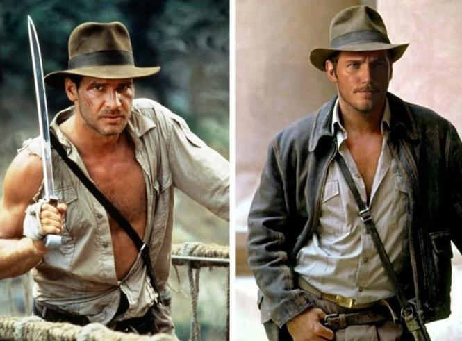 Harrison Ford vs Chris Pratt