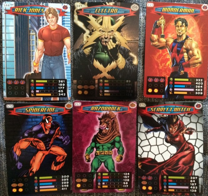 Marvel Card Collection