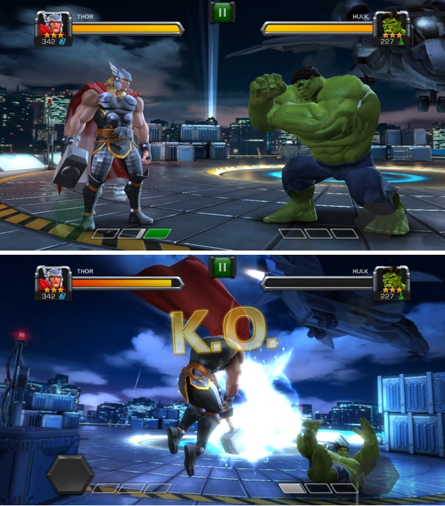 thor vs hulk marvel contest of champions the nerd nebula