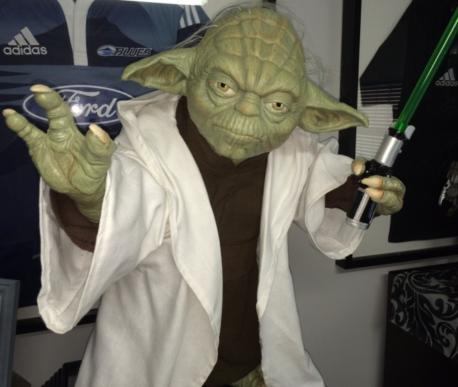 Yoda Close Up