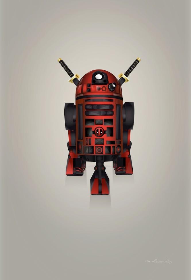 Deadpool R2D2