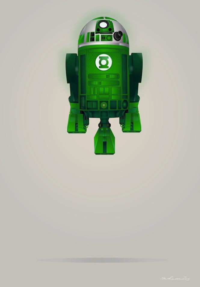 Green Lantern R2D2