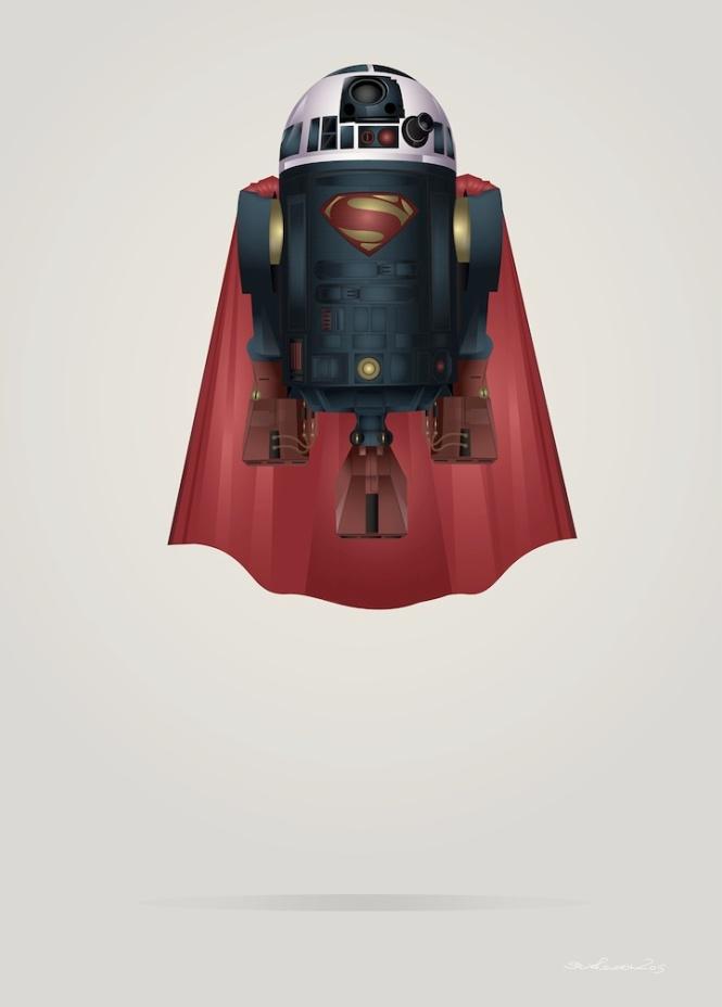 Superman R2D2