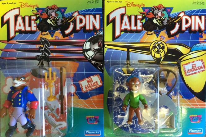 Tale Spin Action Figures