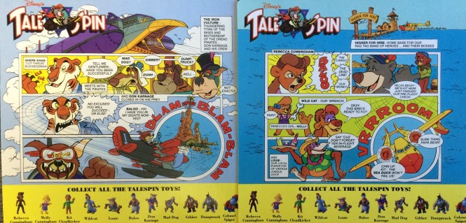 Tale Spin Comic Strips