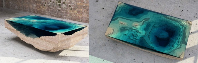 Blue Abyss Table