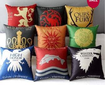 House Sigil Pillows