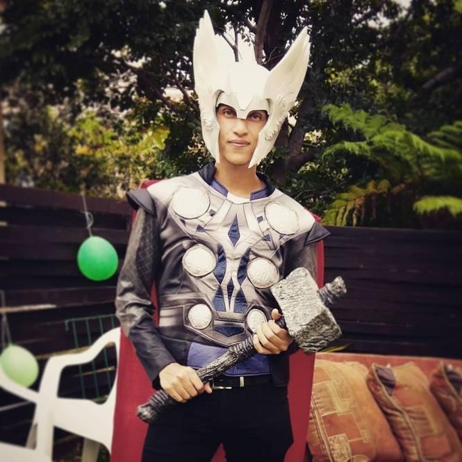 Justin Jadoo as Thor