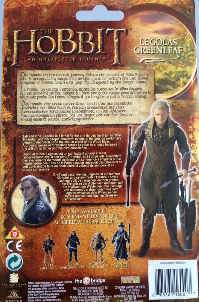 Legolas Back of Box