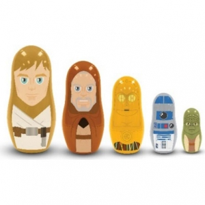 Jedi and Droids Nesting Dolls Set