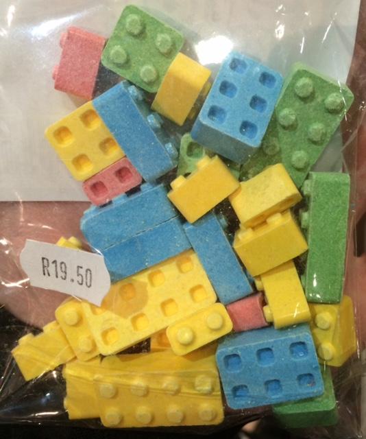 Lego Candy Blocks