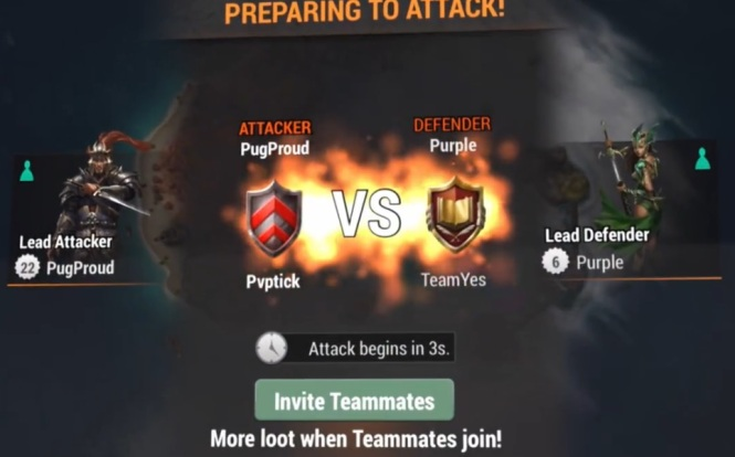 Team Attacks