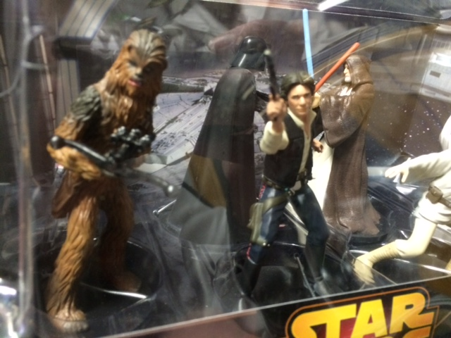 Han and Chewy close up