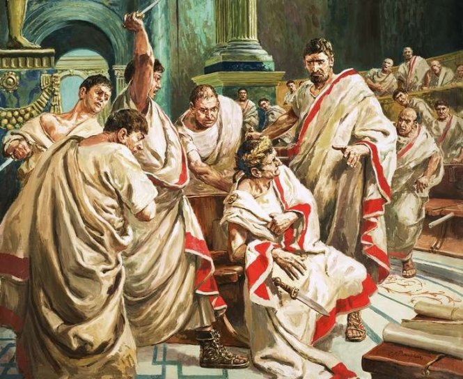 Julius Caesar assassination